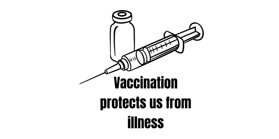 vaccination protects us from illness