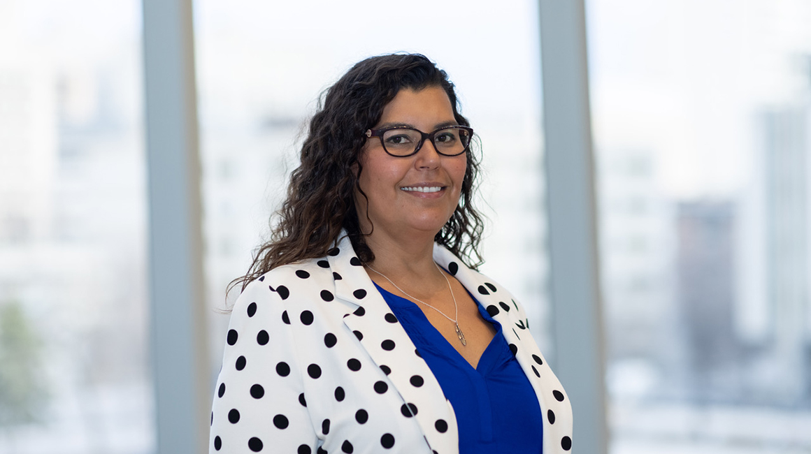 Dr. Marcia Anderson, Health Lead for Manitoba's First Nations Pandemic Coordination Team