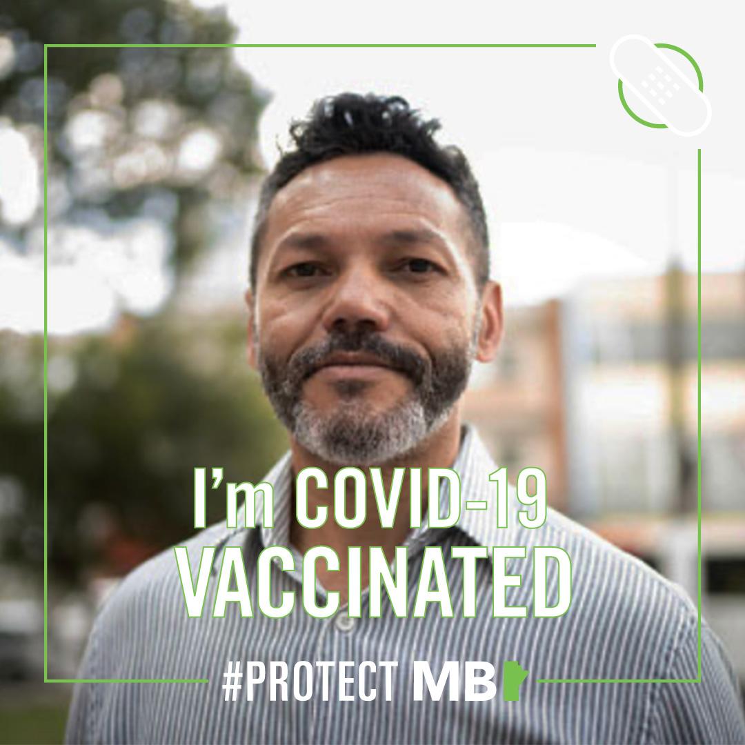 social media frame - I'm covid-19 vaccinated