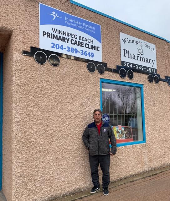 Tony Pimentel, Mayor of Winnipeg Beach