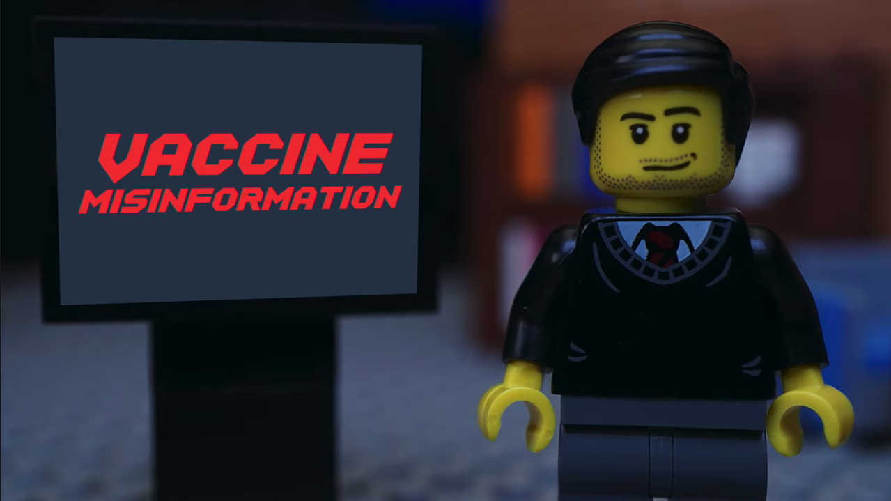 let's talk about vaccine misinformation (in Lego)
