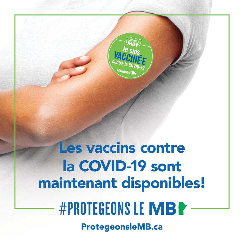 les vaccins contre la covid-19 sont maintenant disponibles