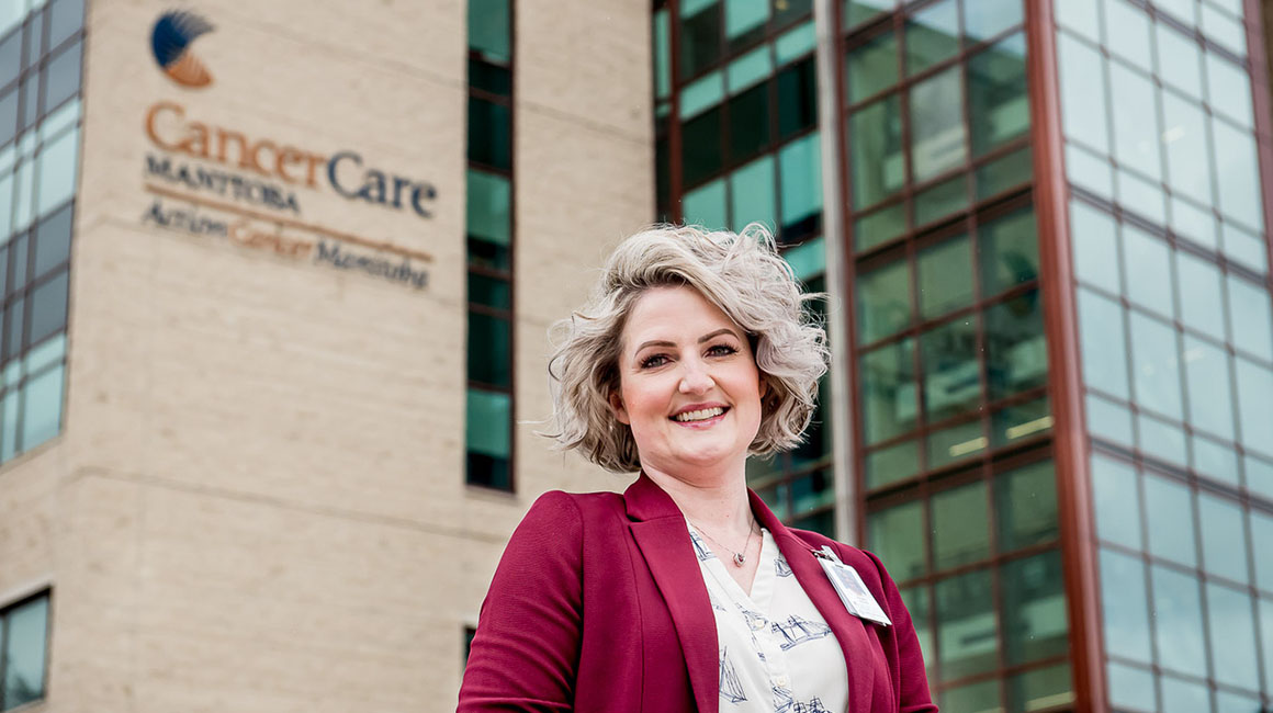Tiffany Kautz, Director of Quality, Patient Safety, Policies and Guidelines, CancerCare Manitoba