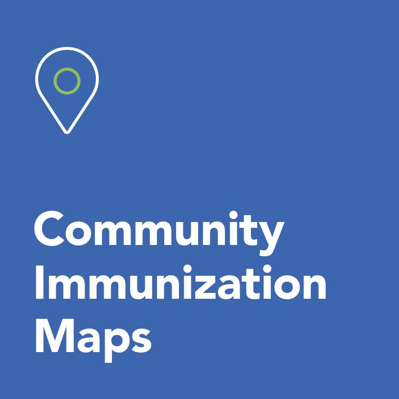 Community immunization maps