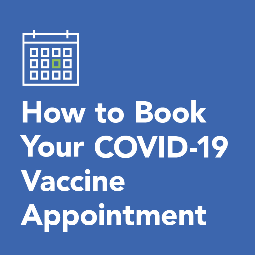 how to book your COVID-19 vaccine appointment