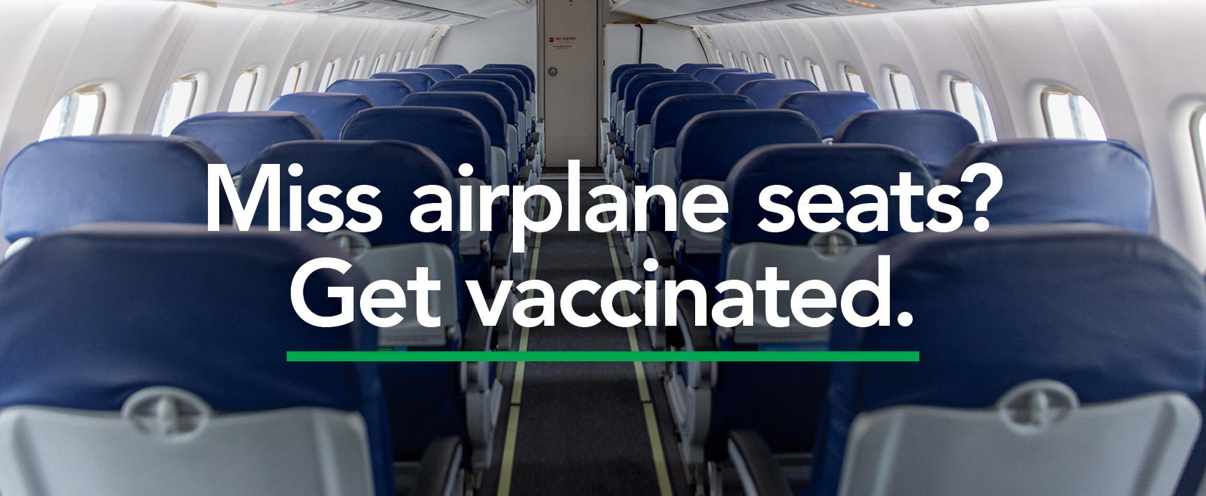 miss airplane seats? get vaccinated