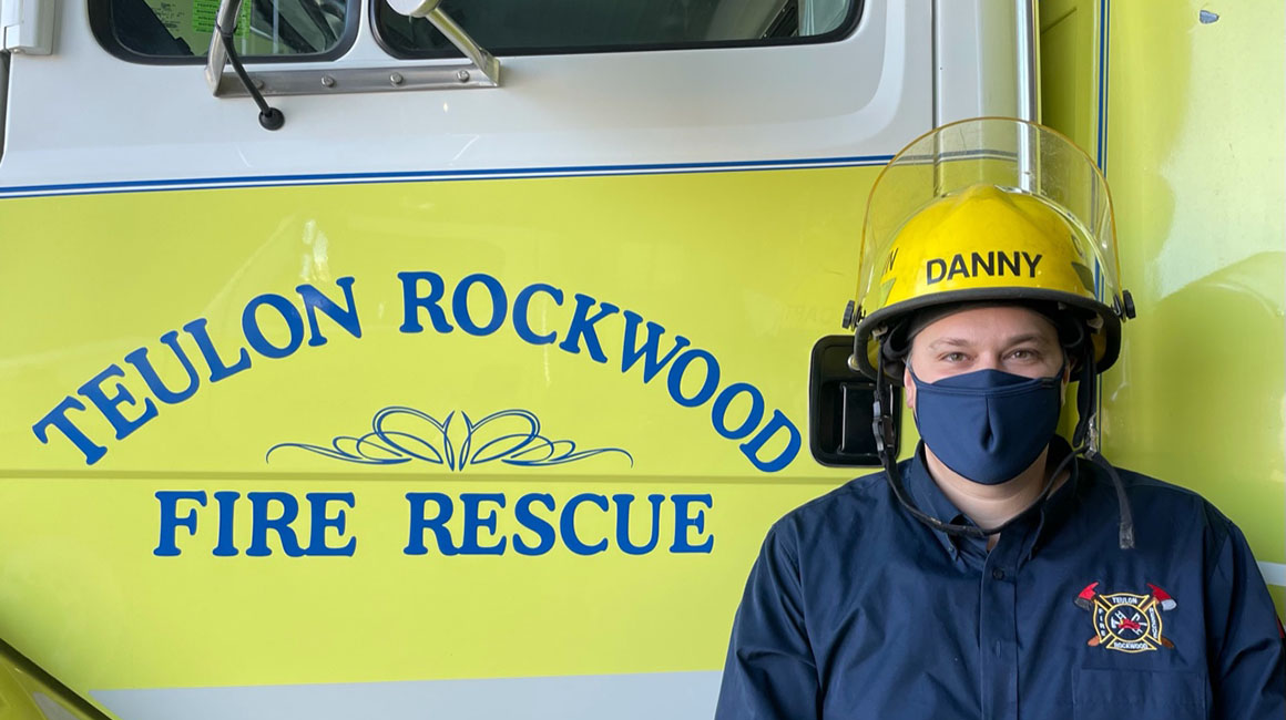 Danny Hutchinson, Post-Secondary Administration & Teulon Rockwood Firefighter
