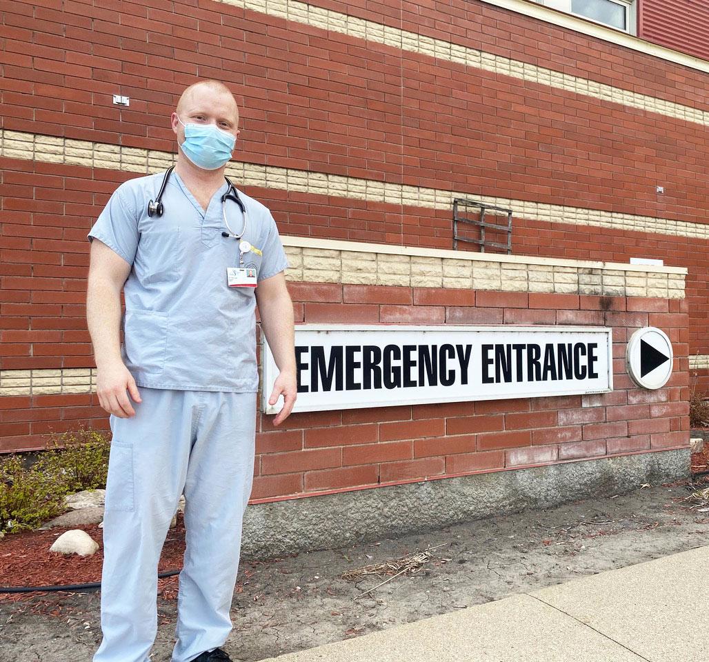 Dr Dan Hunt, Family & ER doctor at Boundary Trails Hospital