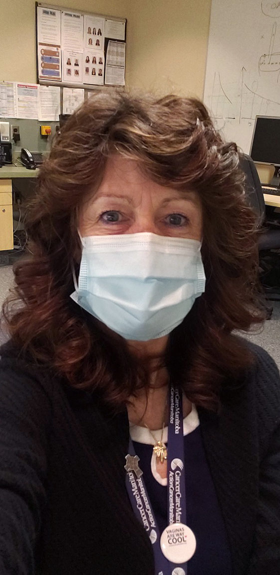 Tina Anderson RN, Brachytherapy Nurse, Department of Nursing, CancerCare Manitoba