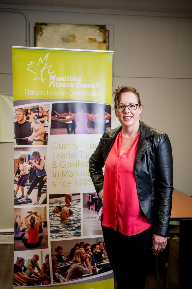 Shaun Jeffrey, Manitoba Restaurant Association & Stephanie Jeffrey, Manitoba Fitness Council