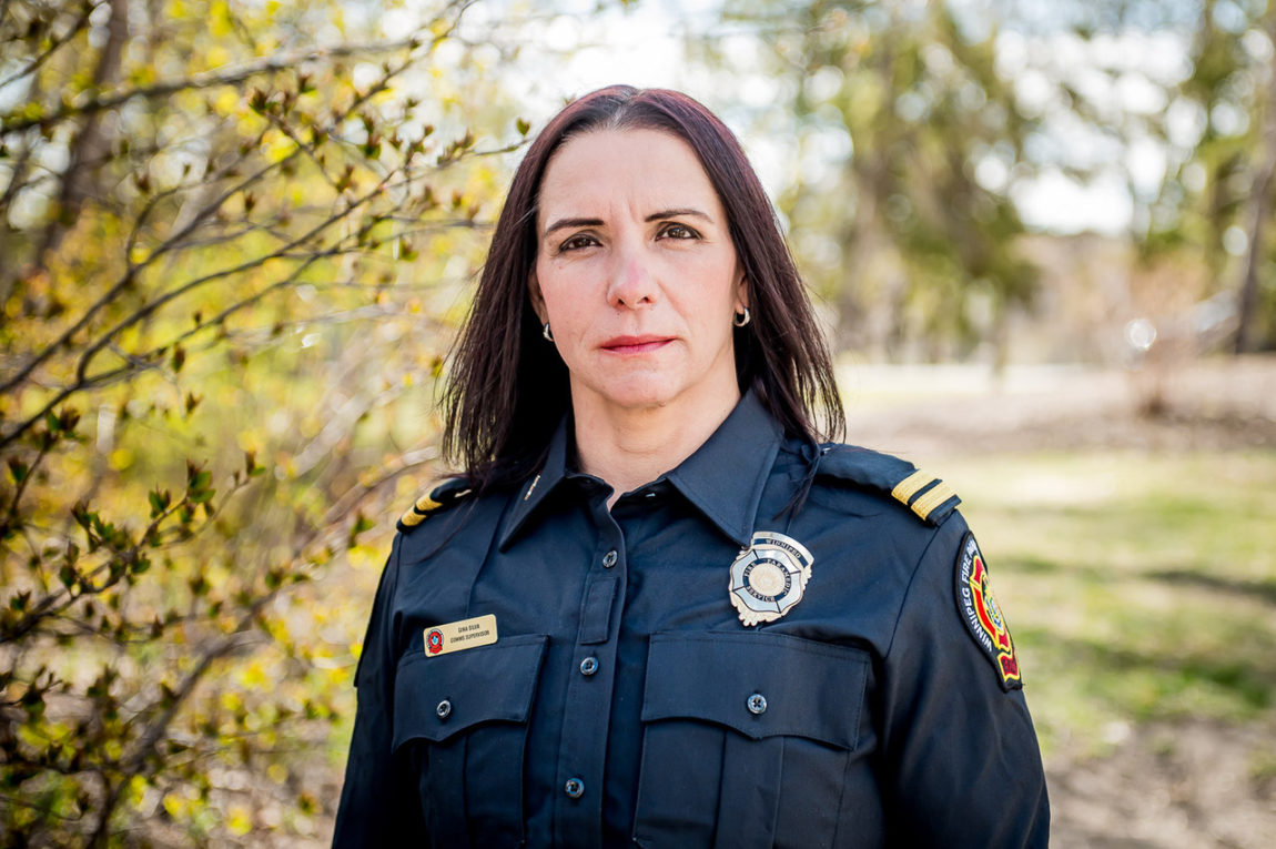 Gina Silva, Communication Supervisor, Winnipeg Fire Paramedic Services