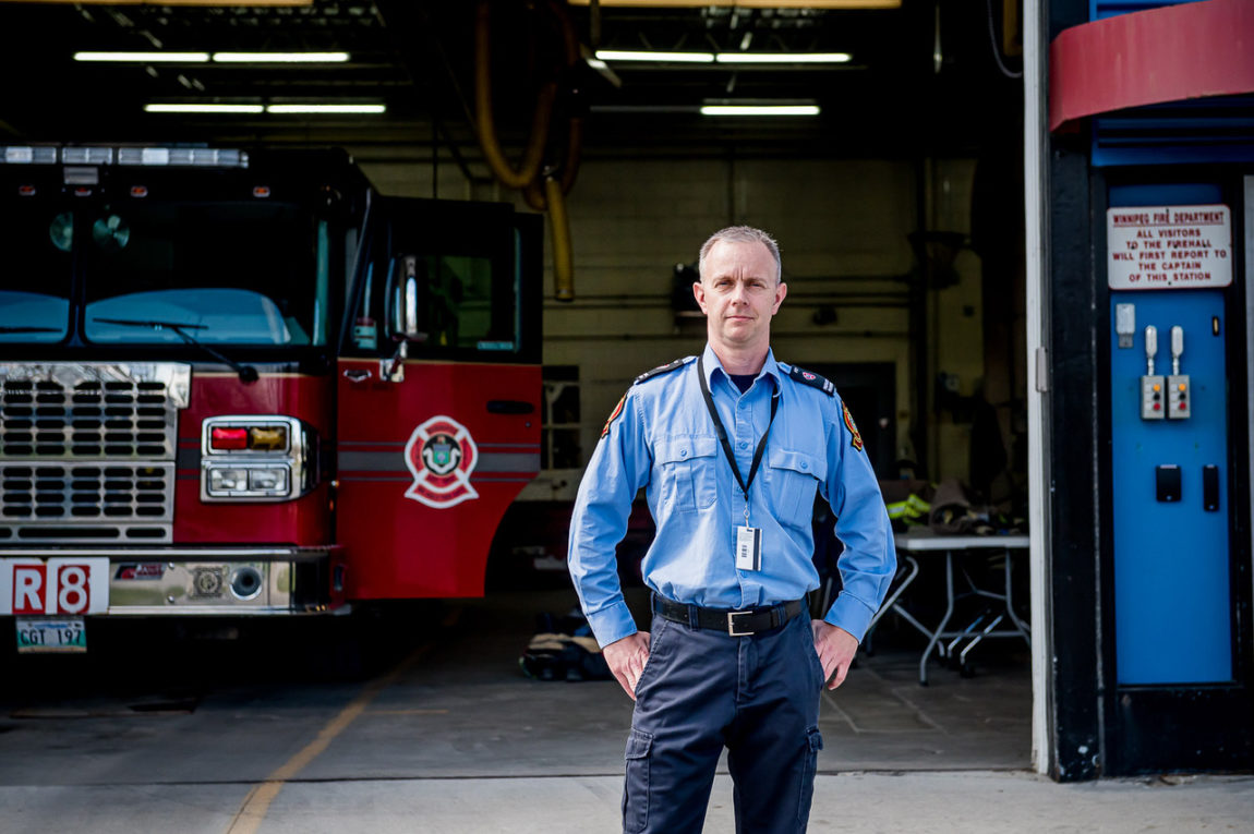 Ryan Youngson, Firefighter Primary Care Paramedic, Winnipeg Fire Paramedic Service