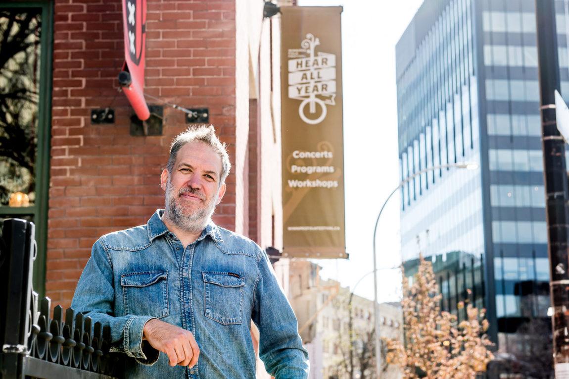 Chris Frayer, Artistic Director, Winnipeg Folk Festival