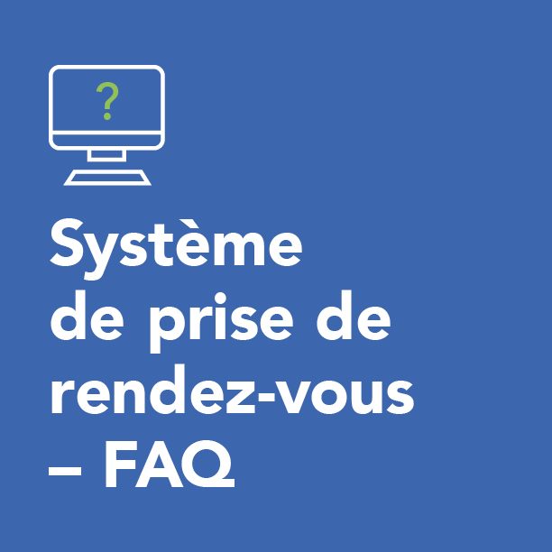 Système de prise de rendez-vous – FAQ