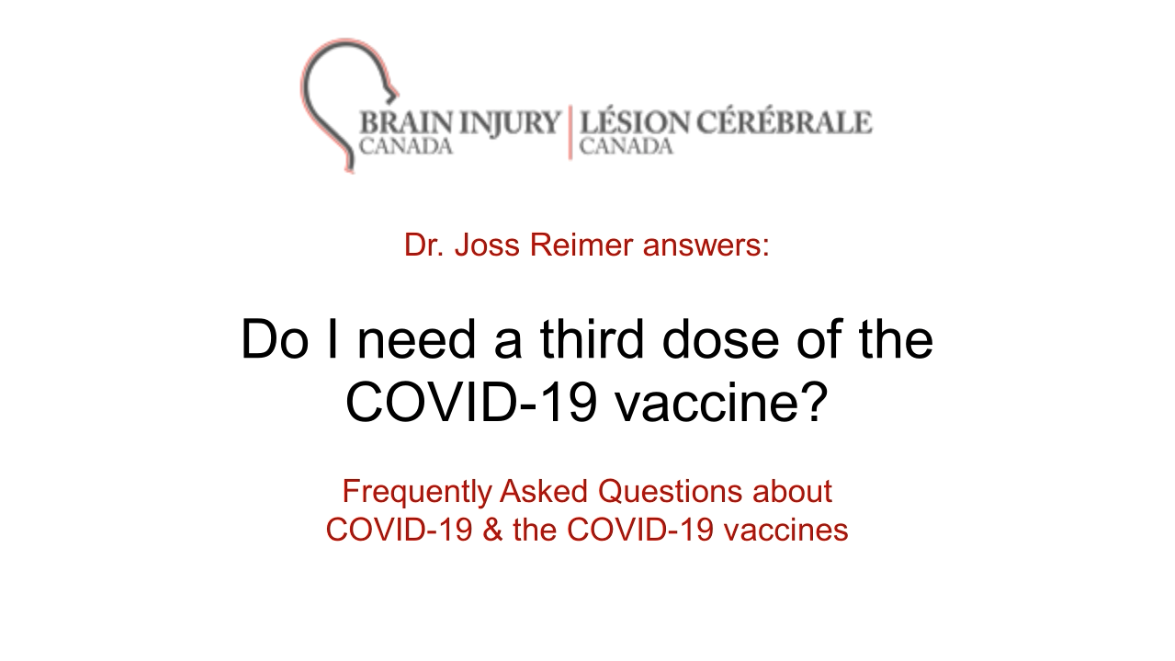 Do I need a third dose of the COVID-19 vaccine?